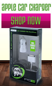 Apple car charger, ipod car adapter, iphone charger