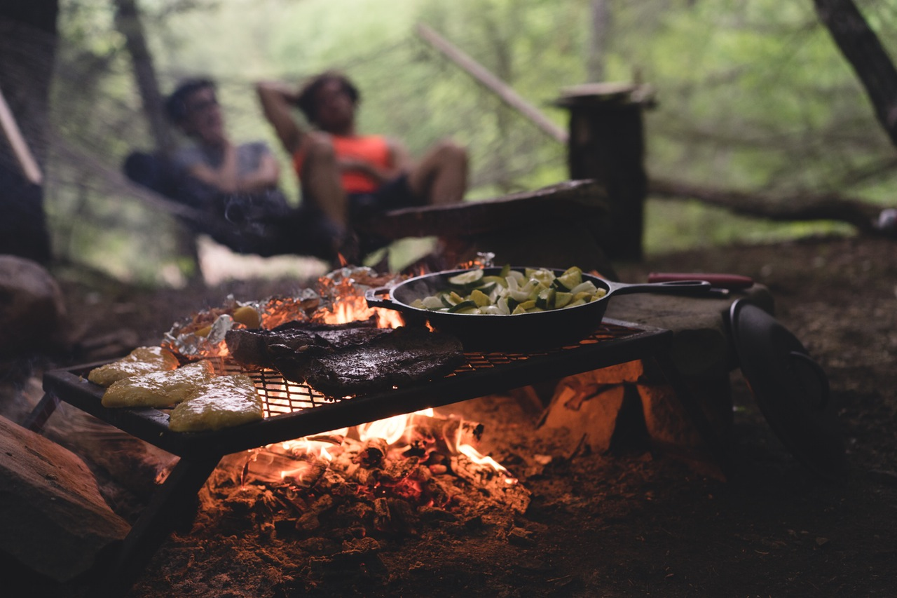Camping Cooking Campfire Blog Post
