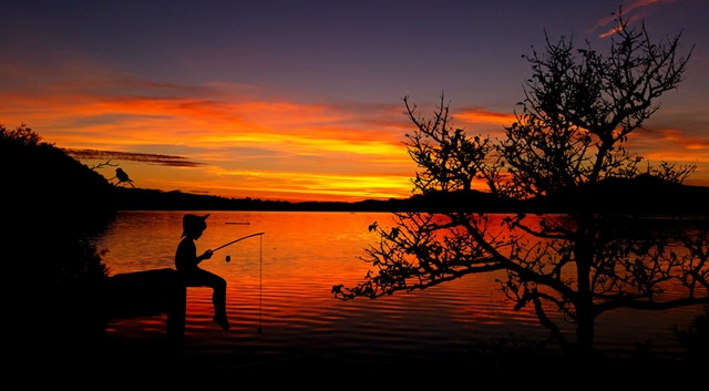 fishing with your kids