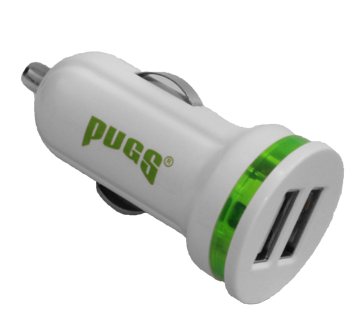 pugs car charger road trip essentials